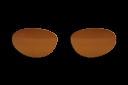 Overzetbrillen -  brillenglazen  bruin  TAC  VZ-0002  FitOfar