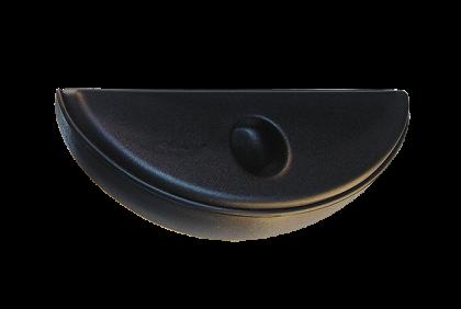 Briletuis - ET-C19 etui  zwart  kunststof