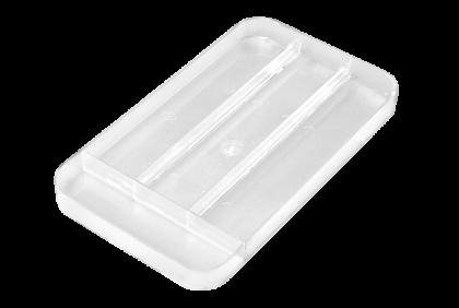 Opbergmaterialen - ST-0006 inleg  4-vaks  kunststof  voor P055