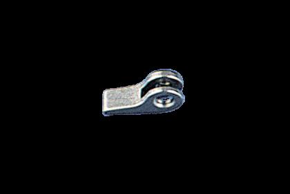 Scharnieren - B002 soldeerscharnier  0,6/0,6 mm