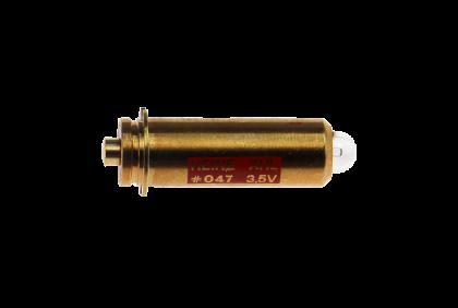 Oogspiegels en skiascopen - U022 xenon halogeen lampje  Heine  3,5 V  oogspiegel  047