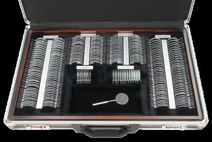 Pasdozen - T032 metalen vatting  pasdoos  260-delig