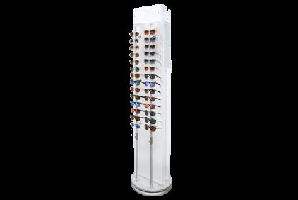 Displays - DS-0019 vloerdisplay  brillen  afsluitbaar
