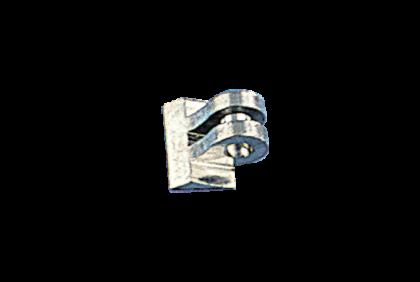Scharnieren - B010 soldeerscharnier  0,9/0,9 mm