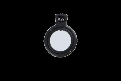 Pasglazen -  C+  kunststof vatting  pasglas  135°
