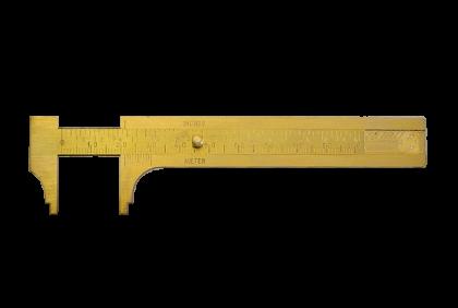 Diverse gereedschappen - M112 schuifmaat  messing