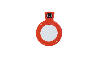 Pasglazen - TR-0005 C-  kunststof vatting  pasglas  135°