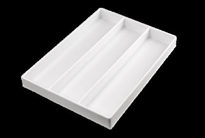 Opbergmaterialen - ST-0013 inleg  3-vaks  kunststof  voor P061/P062/P121