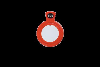 Pasglazen -  kunststof vatting  pasglas  S-