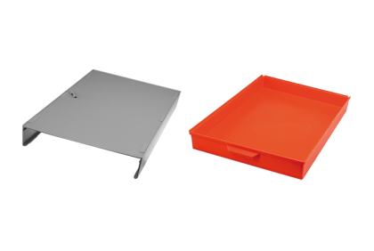 Opbergmaterialen - ST-0020 opbouw met lade  kunststof  voor P061/P062