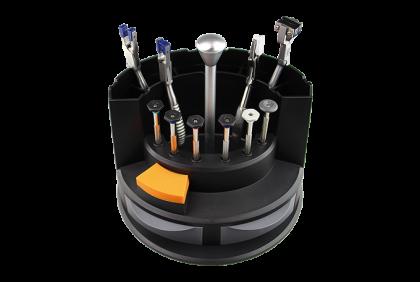 Diverse gereedschappen - M124 gereedschapscarrousel  kunststof
