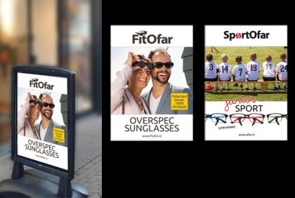 Promotiemateriaal - PM-0003 Poster  FitOfar/SportOfar 2018