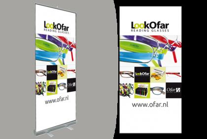 Promotiemateriaal -  Roll-up banner  LookOfar 2018