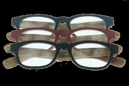 Leesbrillen sets - Set LE-0166 Wood