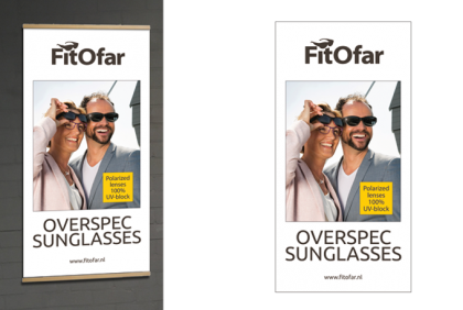 Promotiemateriaal -  Textielbanner  FitOfar 2018
