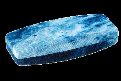 Briletuis - ET-A56 etui  blauw  jeans