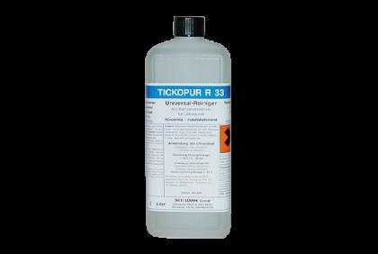 Ultrasone reinigers - S053 Tickopur  reinigingsvloeistof  R33  1 liter