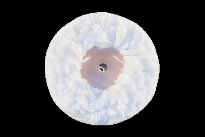 Polijstgereedschap - L020 borstelschijf  wol  schijf  80 x 23 mm
