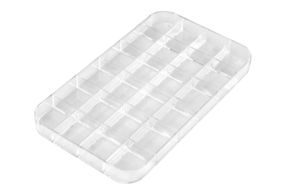 Opbergmaterialen - ST-0009 inleg  24-vaks  kunststof  voor P055