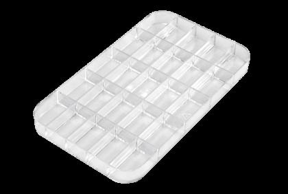 Opbergmaterialen - ST-0010 inleg  25-vaks  kunststof  voor P055