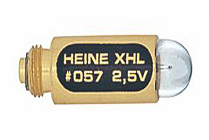 Oogspiegels en skiascopen -  xenon halogeen lampje  Heine  Mini 3000  2,5 V  057