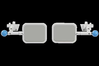 Pasbrillen - TF-0059 polarisatie voorhanger  Oculus  UB-4  45/135 graden