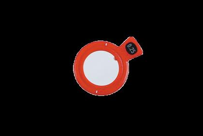Pasglazen -  C -  kunststof vatting  pasglas