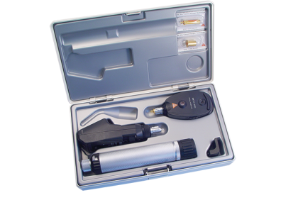 Oogspiegels en skiascopen - U007 oogspiegel/skiascoop  Heine  Beta 200  2,5 V  set