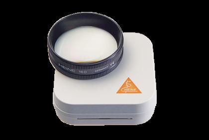 Oogspiegels en skiascopen - U029 C +  16,00  oogspiegellens  Heine  Aspheric  inclusief etui
