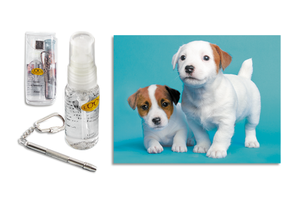 Brildoekjes - CL-0071 care kit  Keith puppy