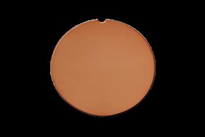 Plano glazen - W002 brillenglazen  CR39  bruin  50%