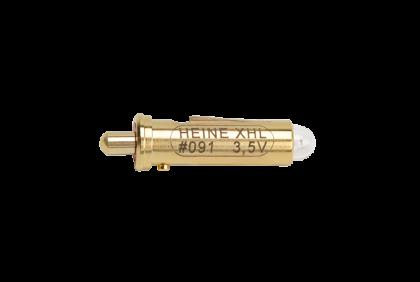Oogspiegels en skiascopen - U064 xenon halogeen lampje  Heine  3,5 V  Focalux  091