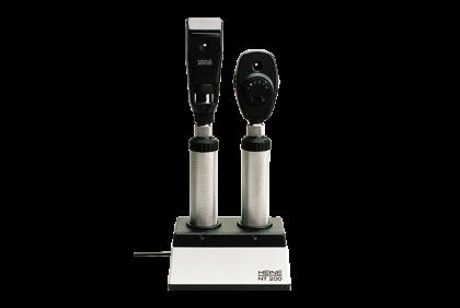 Oogspiegels en skiascopen - U014 oplaadset  Heine  NT-300  inclusief 2 handvatten