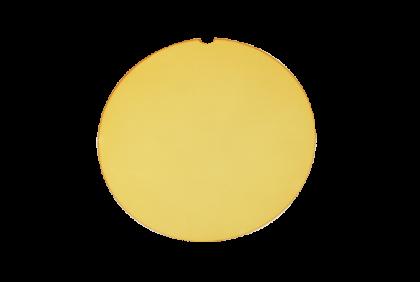 Brillenglazen - W009 brillenglazen  CR39  geel  contrast