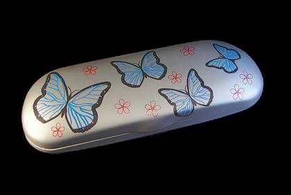 Briletuis - ET-B10 etui  assortiment  vlinder