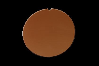 Brillenglazen - W017 brillenglazen  CR39  bruin  75%