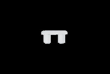 Moeren - D124 dubbel  kunststof  glasbrilbusje  2,0 x 2,0 mm