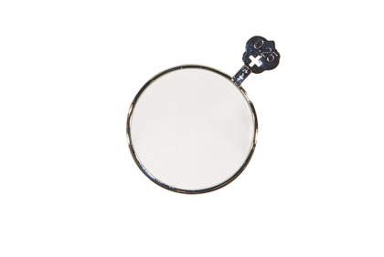 Pasglazen -  metalen vatting  pasglas  S +