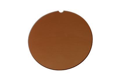 Brillenglazen - W039 brillenglazen  mineraal glas  bruin  75%