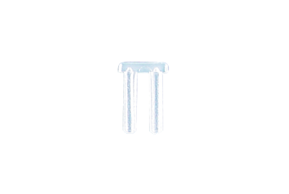 Moeren - D118 dubbel  kunststof  glasbrilbusje  2,0 x 6,0 mm
