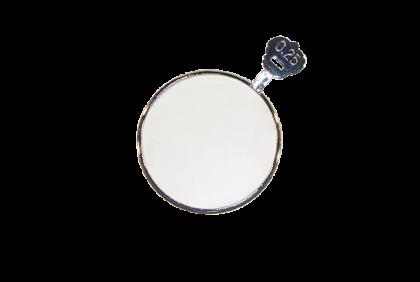 Pasglazen -  metalen vatting  pasglas  S -