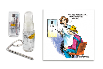 Brildoekjes -  Finkstrom  care kit