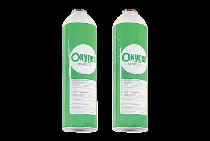 Soldeermaterialen - Q036 zuurstof  2 x 13 gr  Miniflam