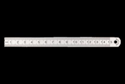 Diverse gereedschappen - P025 metaal  PD-latje  150 mm
