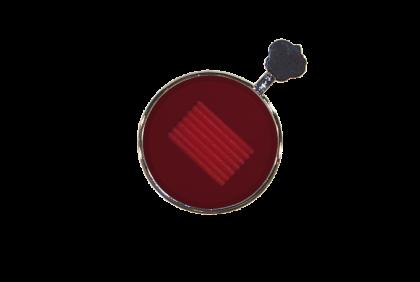 Pasglazen -  metalen vatting  Maddox pasglas