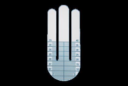 Diverse gereedschappen - P030 kunststof  leesdeel hoogtemeter  75 x 37 mm
