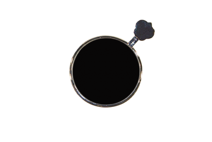 Pasglazen -  metalen vatting  occluder pasglas