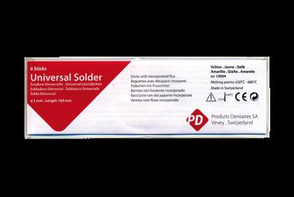 Soldeermaterialen - Q043 PD-soldeerstaaf  6 x 150 mm