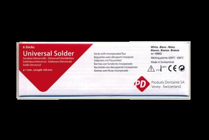 Soldeermaterialen - Q044 PD-soldeerstaaf  6 x 150 mm