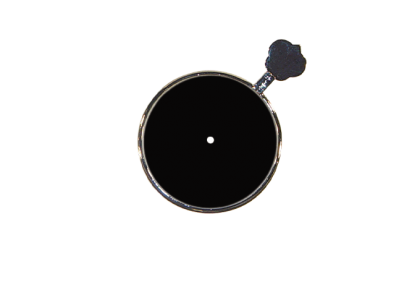 Pasglazen - T metalen vatting  pinhole pasglas  0,50 mm